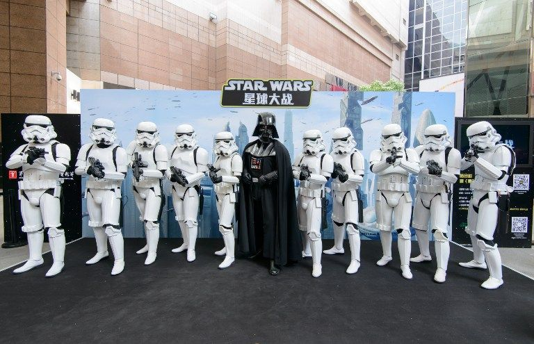 Foto: AFP/Walt Disney Studios China
