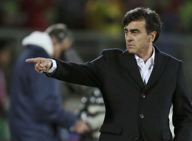 Quinteros volvió a negar los rumores sobre una posible renuncia. Foto: REUTERS