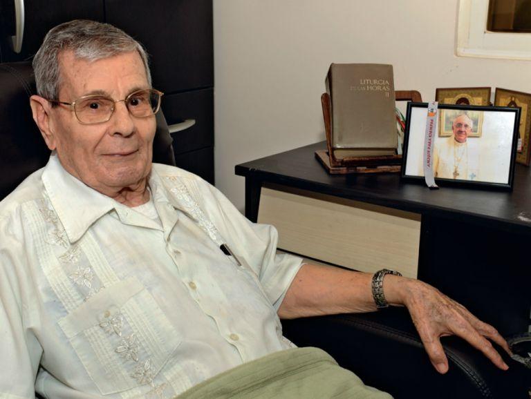 """Francisco """"Paquito"""" Cortez conversará a solas con el papa Francisco el 6 de julio. Foto: José Dimitrakis"""