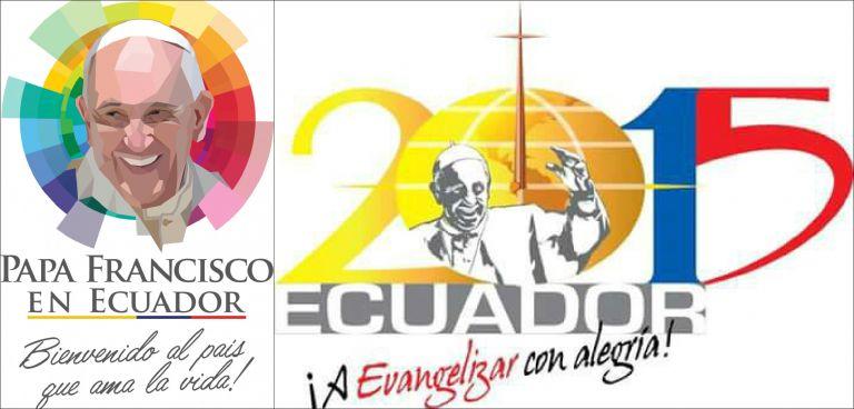 A la derecha, el logo presentado por la CEE. A la izquierda, el creado por el Gobierno.