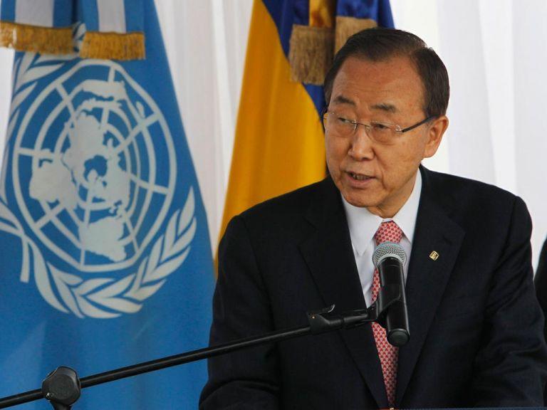 Ban Ki-Moon, secretario general de la ONU. Foto: REUTERS