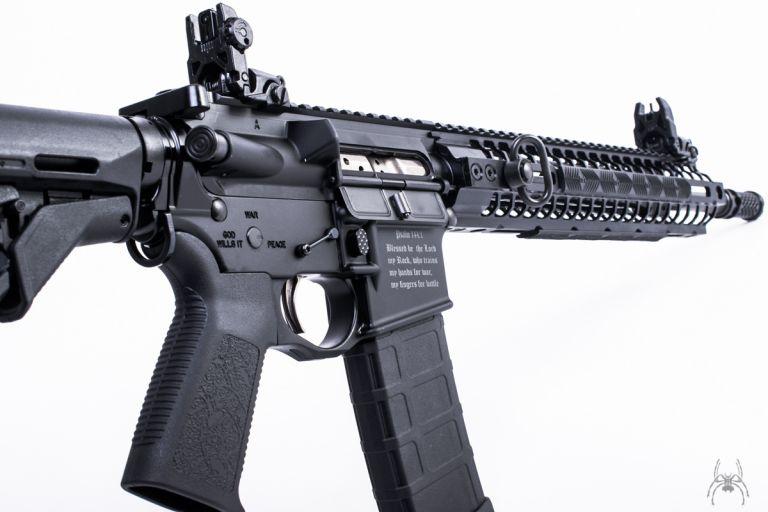 "Rifle ""Cruzado"". Foto: Spike's Tacticals"