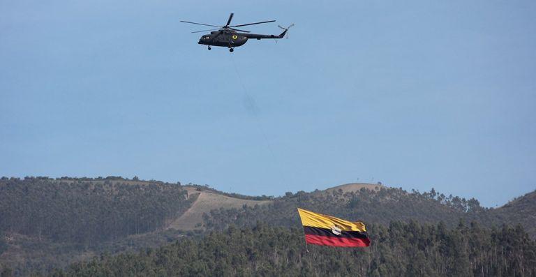 Foto: Ejército Ecuatoriano.