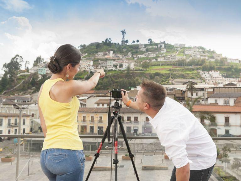 El Panecillo, uno de los puntos más visitados de la capital.