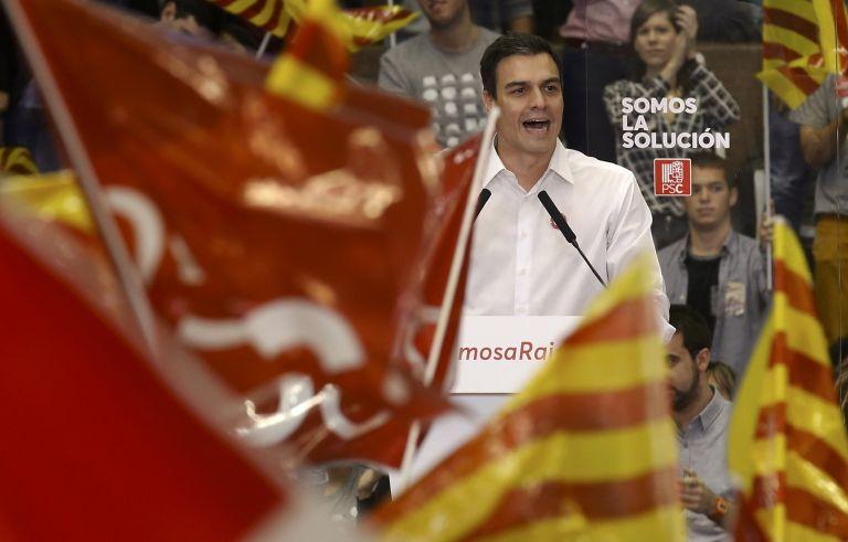 El líder del partido socialista, Pedro Sánchez. Foto: REUTERS.