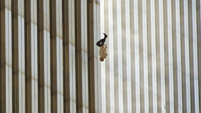 The Falling Man. Foto: Richard Drew