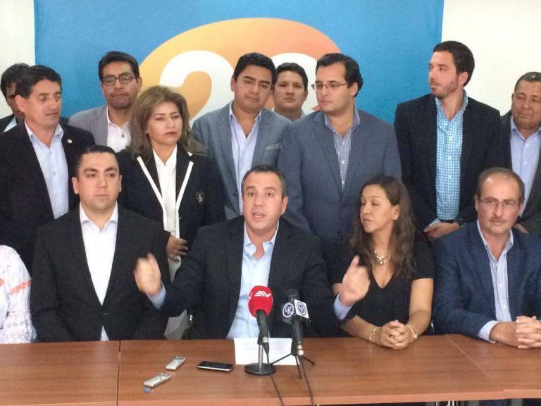 Alianza con CREO incluye elaboración de listas conjuntas para candidatos a asambleístas. Foto: Vía @pdiaztv.