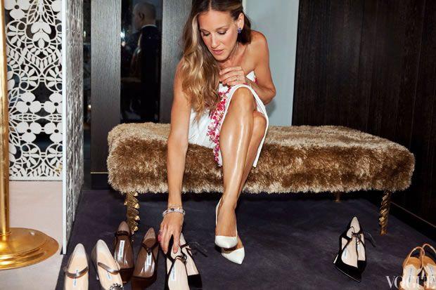 Como olvidar aquellos momentos en que quisimos correr a ser Sarah Jessica Parker para tener sus zapatos.
