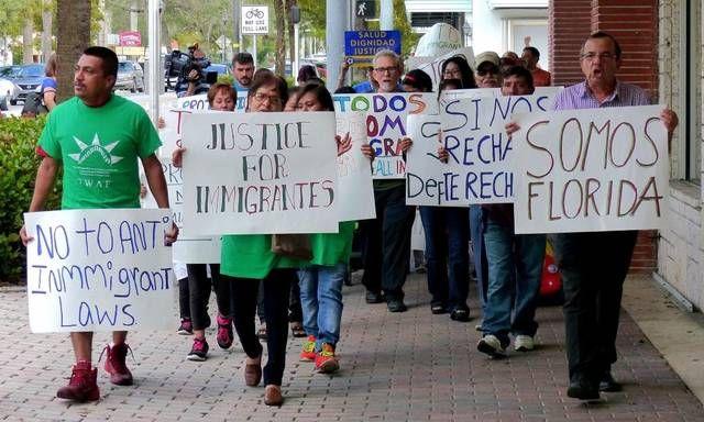 """MIAMI, EE.UU.- La ONG nacional United We Dream está reuniendo firmas en una página web para forzar al alcalde a """"resistir a Trump"""". Foto: El Nuevo Herald."""