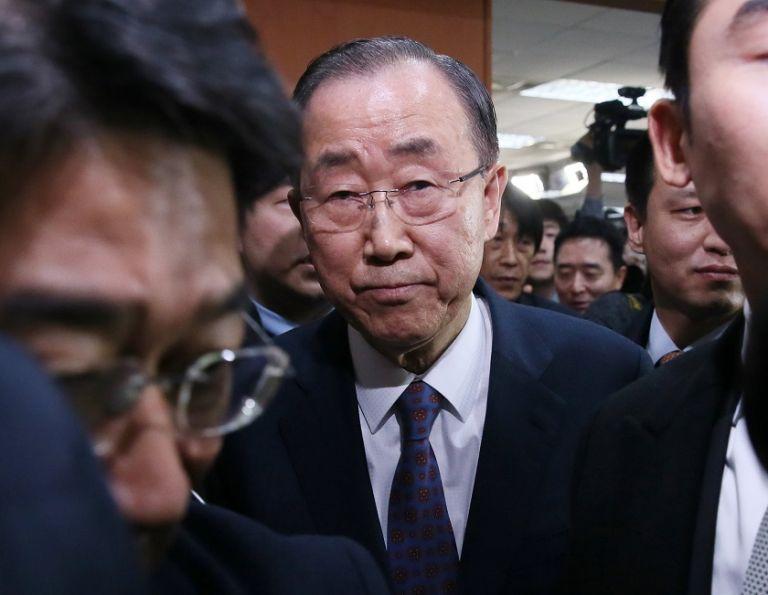 El diplomático de 72 años regresó en enero tras ocho años al frente de la secretaría general de la ONU. Foto: REUTERS.