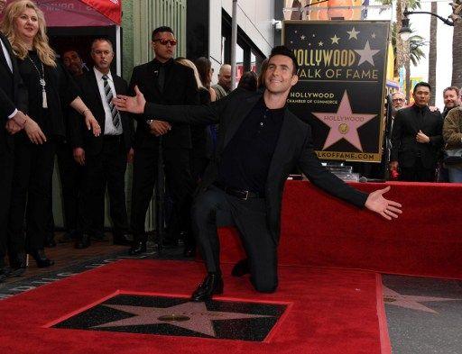 """""""Este es uno de los días más increíbles y especiales de mi vida, y nunca lo olvidaré"""", señaló Levine. Foto: AFP"""
