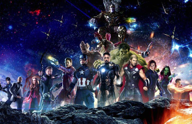 """Marvel Studios compartió imágenes de la película """"Avengers: Infinity War""""."""