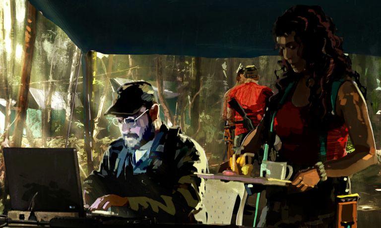 """Escena de la película """"The Red Jungle"""", dirigida por el colombiano Juan Lozano.  Foto: Internet."""