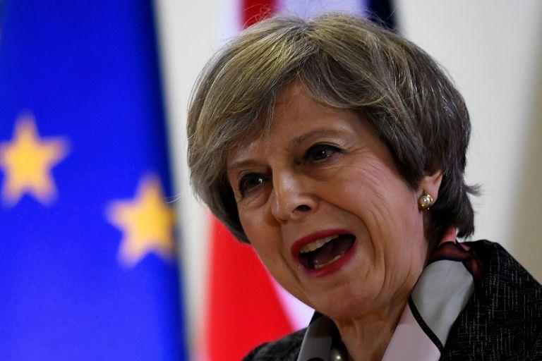 Theresa May. Foto: Reuters.