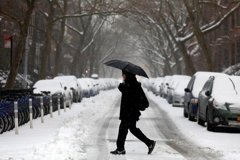 Las calles de Manhattan y de los distritos de Queens, El Bronx y Brooklyn permanecieron hoy casi desiertas. | Foto: Reuters.