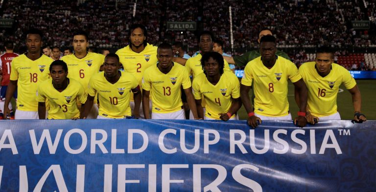 La Selección Ecuador retrocedió un paso en su intención de ganar un cupo al Mundial de Rusia 2018. Foto: Reuters