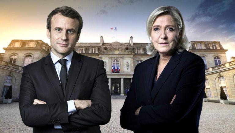 El centrista proeuropeo Emmanuel Macron y la ultraderechista Marine Le Pen disputarán la segunda vuelta de las presidenciales en Francia.