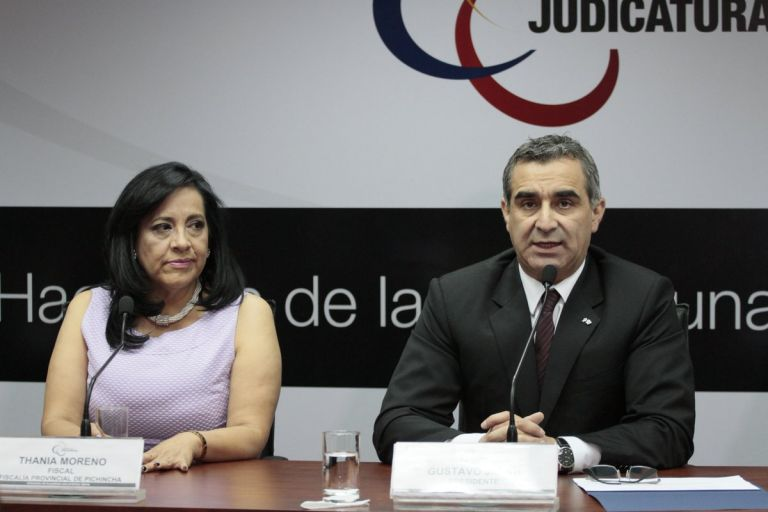 Foto: Twitter / Consejo de la Judicatura.