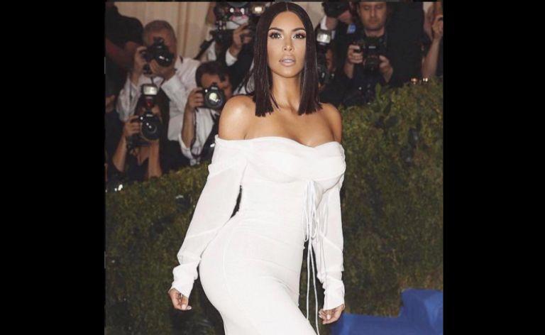 Kim Kardashian se casó con el millonario rapero Kanye West y tiene 2 hijos con él. Foto: IG de Kim Kardashian