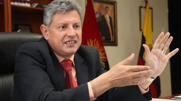 Pedro Delgado es acusado de enriquecimiento ilícito cuando fue miembro del directorio del Banco Central. Foto: TW de Fiscalía