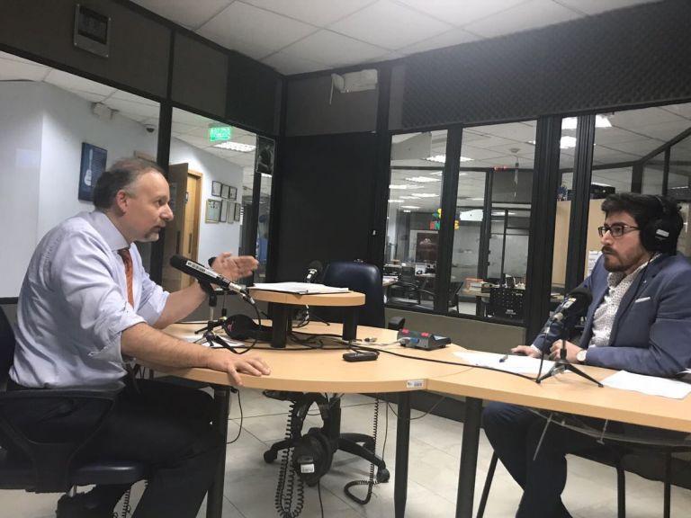 Tras el informe de Contraloría, Richard Espinosa reconoció que el Estado adeuda al IESS más de $ 2.800 millones. Foto: TW del IESS