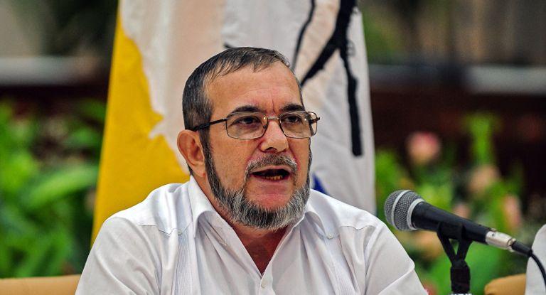 El máximo jefe de las Fuerzas Armadas Revolucionarias de Colombia (FARC), Rodrigo Londoño Echeverri, está en cuidados intensivos. Foto: Archivo