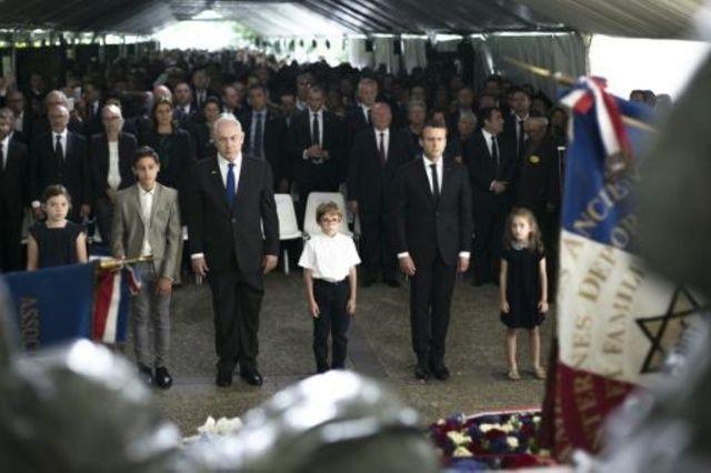El presidente francés, Emmanuel Macron, conmemoró este domingo el 75º aniversario de una redada en la que la policía francesa detuvo a 13.000 judíos.