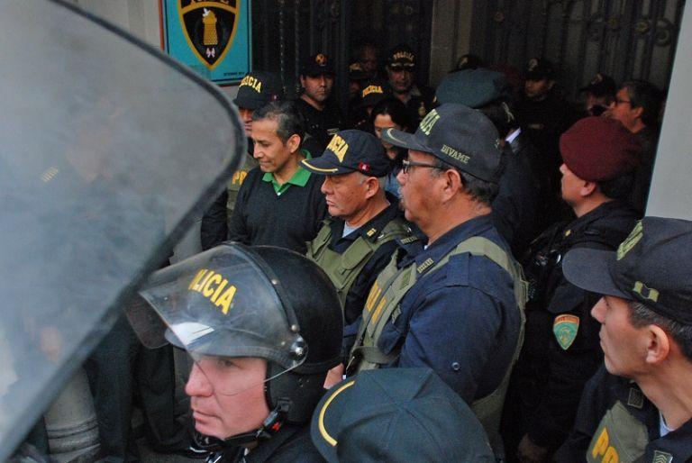 La audiencia será en la Sala Penal Nacional. Humala y su esposa podrán participar mediante videoconferencia. Foto: Reuters