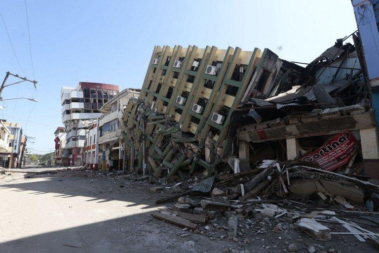 El terremoto del 16 de abril de 2016 afectó principalmente a las provincias costeras de Esmeraldas y Manabí. Foto: Archivo