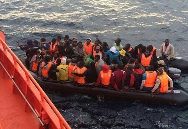 Entre enero y julio de 2017, han llegado por mar a España 7.642 inmigrantes. Foto: Estrella digital