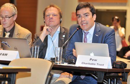 """""""Las reservas marinas necesitan más recursos y vigilancia, no se protegen solas"""", dijo Maximiliano Bello. Foto: cortesía"""