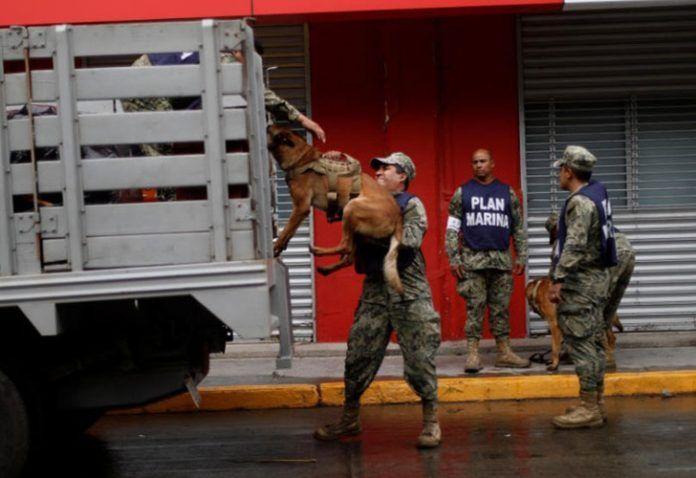 La ayuda tenía como destino la ciudad de Juchitán, una de las más afectadas por el sismo de 8,2 grados. Foto: Univisión