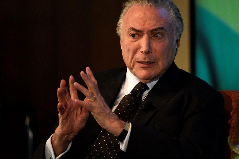 Según la Constitución brasileña, un mandatario en pleno ejercicio del cargo sólo puede ser llevado a un juicio penal con el aval de la Cámara Baja. Foto: Reuters