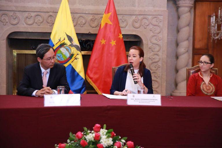 Se financiará la construcción y equipamiento de 2 hospitales con recursos no reembolsables, según dijo Espinosa. Foto: Twitter Espinosa