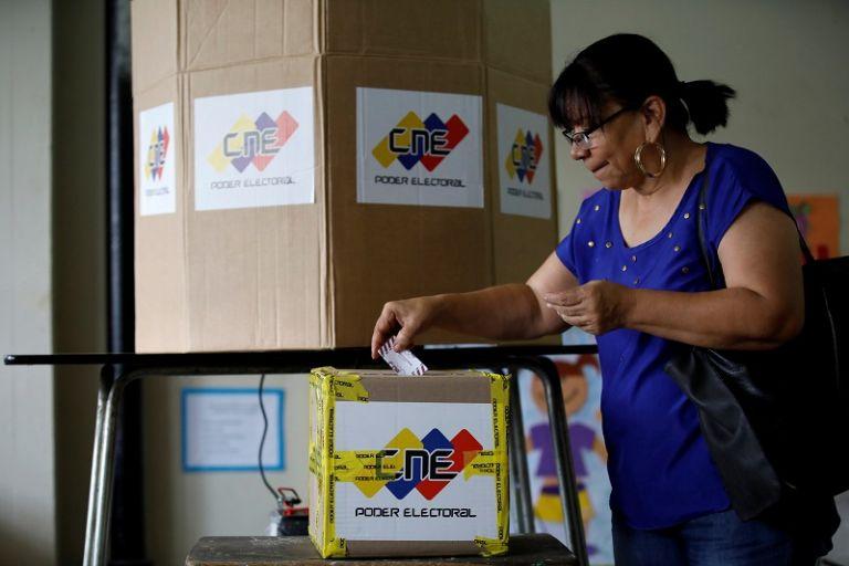 """""""1.600.000 personas tienen problemas que no se sabe si su huella es de la persona que votó"""", dijo el presidente del Parlamento venezolano. Foto: Reuters"""