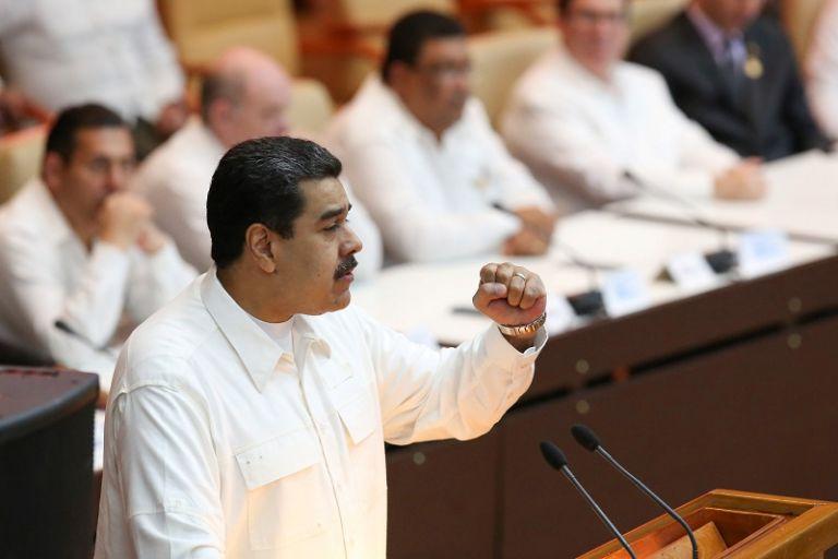 El chavismo acude fortalecido tras arrasar el domingo pasado en las elecciones de alcaldes. Foto: Reuters