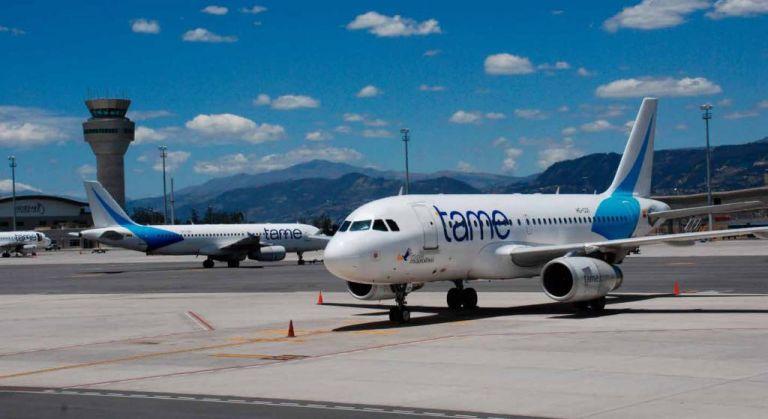 La aerolínea ecuatoriana está sometida a una reestructuración financiera. Foto: archivo