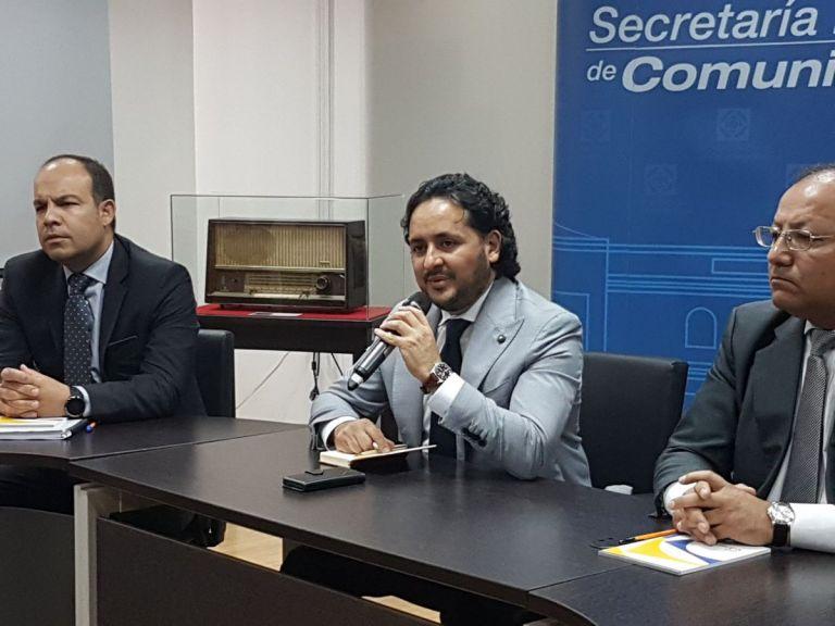 """""""Vamos a trabajar en una Secom que sirva de herramienta de comunicación ciudadana"""", afirmó. Foto: @PublicaFM"""
