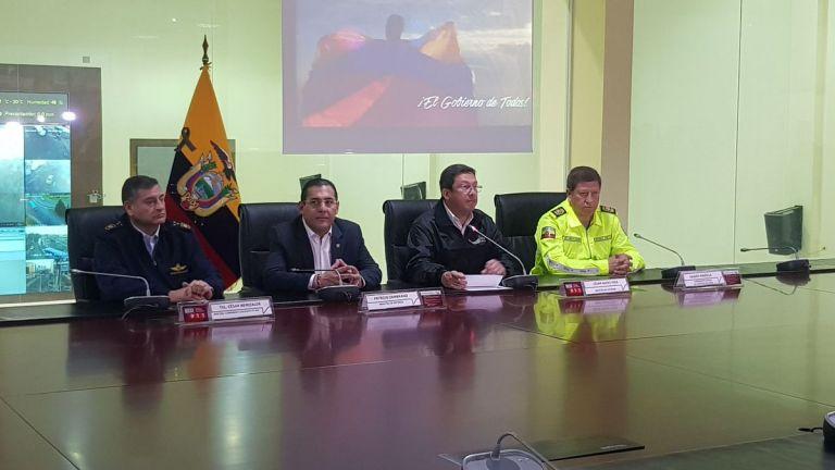 """Aunque en la grabación el secuestrado dice que son """"ciudadanos del Ecuador"""", Navas apuntó que se desconoce el nombre y nacionalidad de la pareja. Foto: Min. Interior"""