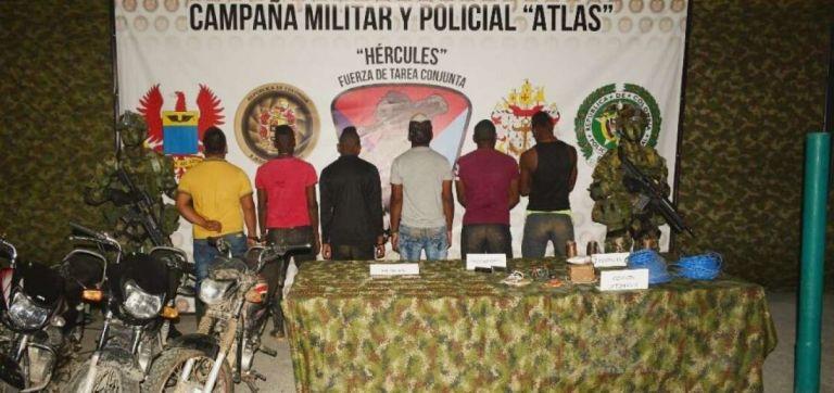 En la zona en donde se han capturado a los disidentes de las FARC, opera la Fuerza de Tarea Conjunta Hércules. Foto: Fuerza de Tarea Conjunta Hércules del Ejército de Colombia.