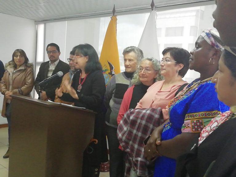 """Benavides dio a conocer los lineamientos de trabajo para """"fortalecer la independencia institucional"""". Foto: Twitter Defensoría"""