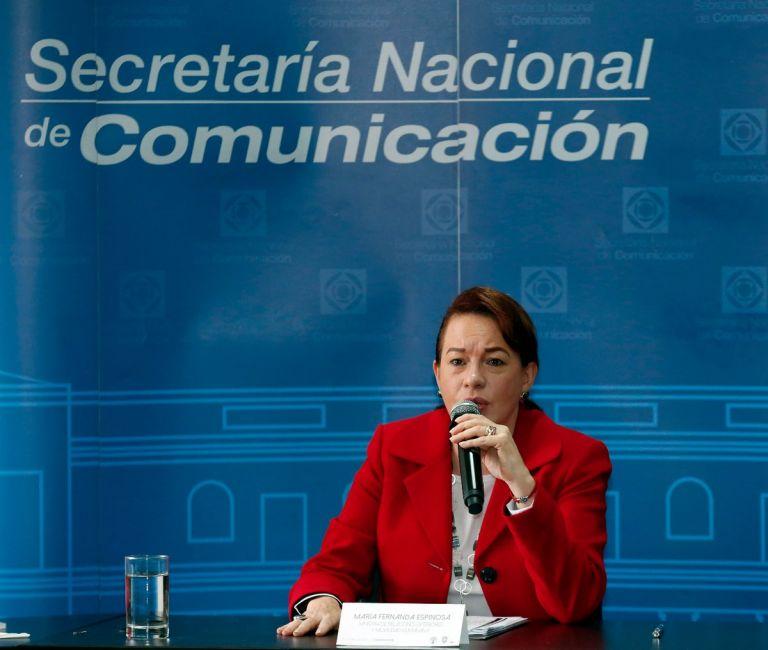 """La jefa de la diplomacia añadió que el Gobierno """"mantiene una mesa de cooperación bilateral con Colombia""""."""