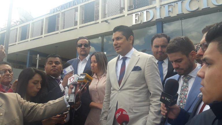 """El exasambleísta dijo que acata la decisión de la jueza por que es """"respetuoso de la ley"""". Foto: @fernandobalda"""