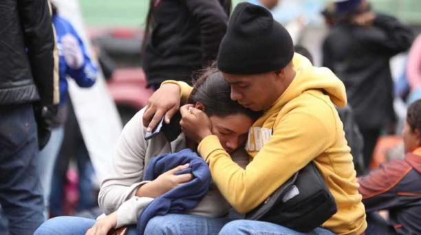 """Venezolanos varados en frontera piden una """"ruta humanitaria"""" hacia Perú. Foto: Twitter"""