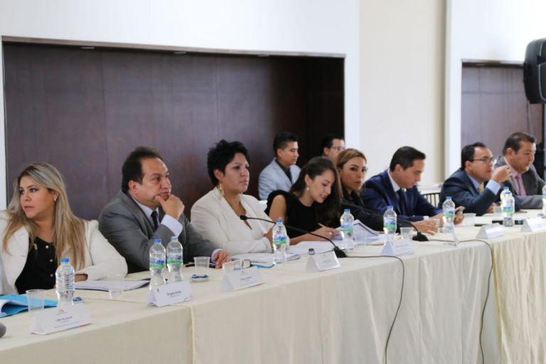 Los asambleístas de la Comisión de Fiscalización y Control Político verificaron el cumplimiento de los requisitos. Foto: Twitter Asamblea Nacional