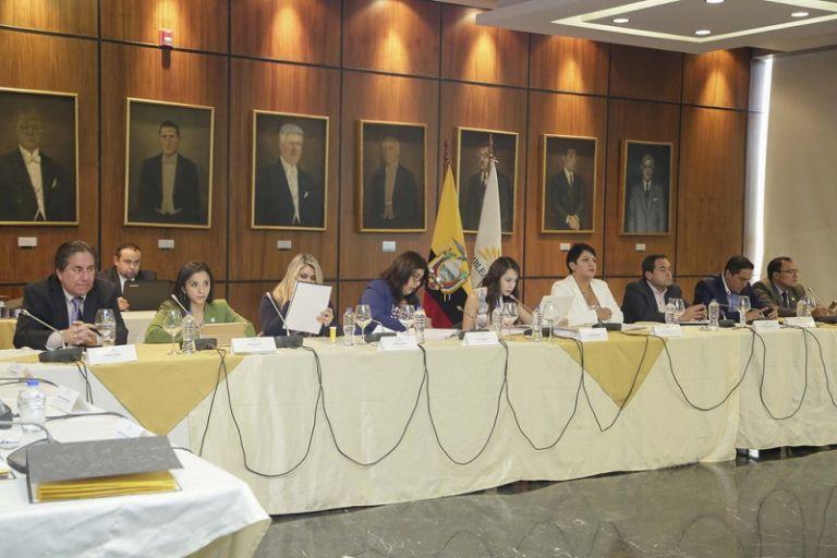Los legisladores deberán verificar el cumplimiento de lo dispuesto en el artículo 131 de la Constitución de la República. Foto: Asamblea