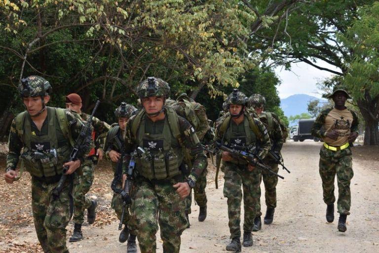"""Guacho es un """"objetivo de alto valor"""" para las Fuerzas Militares. Foto: Twitter Fuerzas Militares de Colombia"""