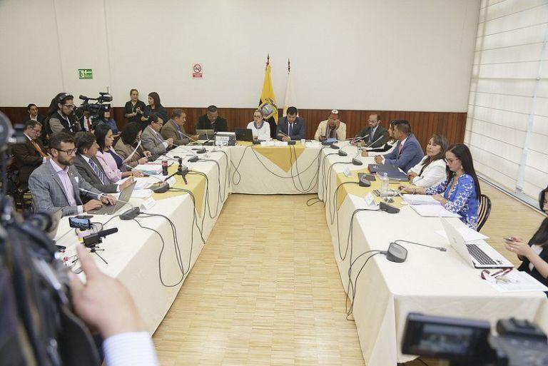 QUITO, Ecuador.- La comisión ocasional debió remitir al pleno el documento el 3 de octubre de 2018. Foto: Archivo
