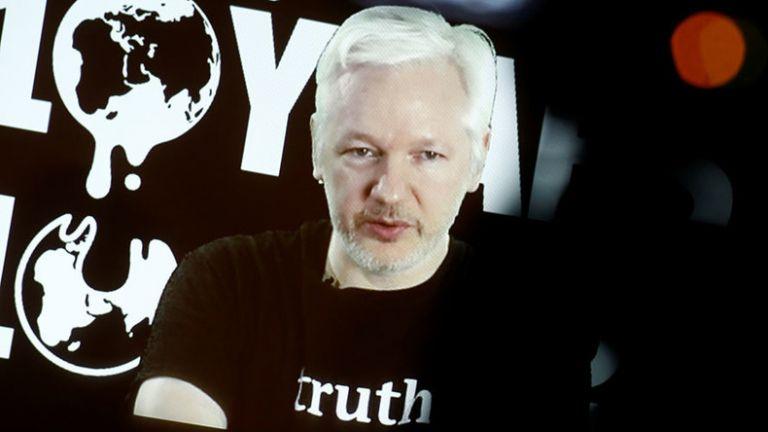 "WikiLeaks señaló que ""Ecuador revierte aislamiento a Assange tras encuentro de ONU con presidente"". Foto: Reuters"
