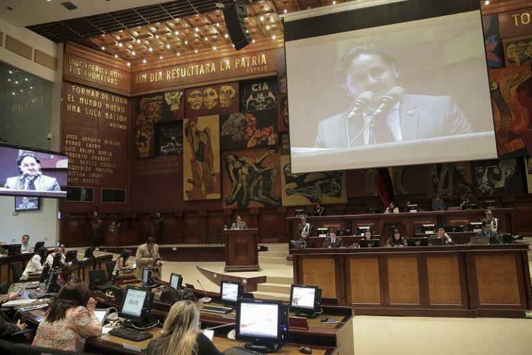 Los asambleistas que intervinieron en el pleno expresaron su decepción por la ronda de comparecencias. Foto: Asamblea